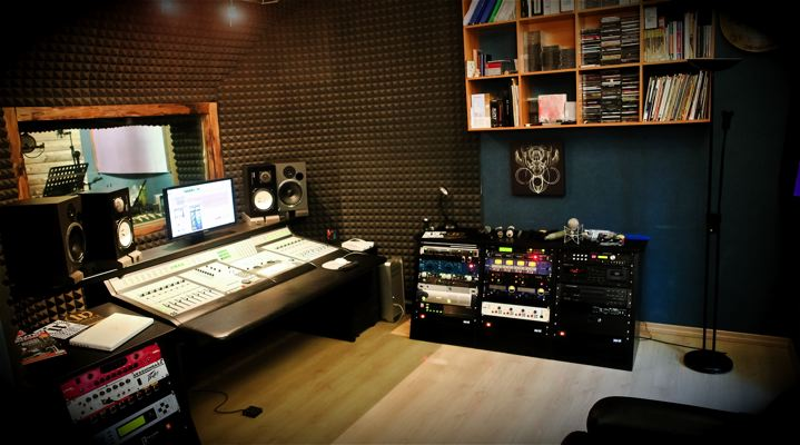 Acme studio di registrazione etichetta indipendente - Studio di registrazione casalingo ...